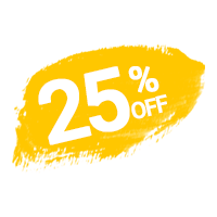 25 percent off on restaurant website development