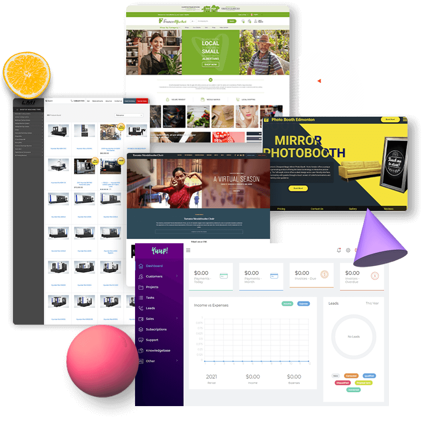 website design Edmonton